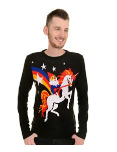 Run & Fly Unisex Unicorn Gnome Jumper