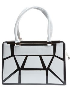 Poisoned Maze Bowling Bag White & Black