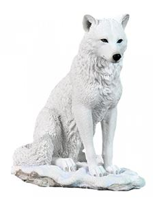 Nemesis Now White 22cm Ghost Wolf Ornament