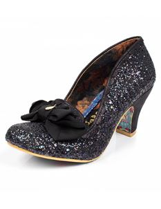 Irregular Choice Kanjanka Mid Heels Shoe Black