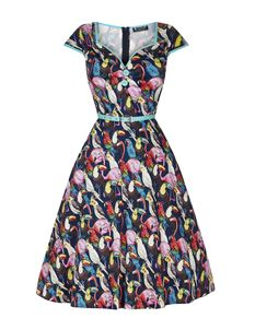 Lady Vintage Isabella Bird City 50s Vintage Style Dress