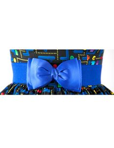 Silly Old Sea Dog Royal Blue Bow Belt