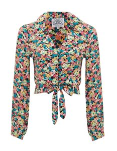 The Seamstress of Bloomsbury Clarice Blouse - Petunia