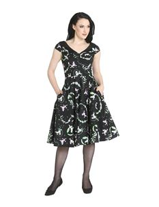 Hell Bunny Lexie Poodle 50s Style Dress