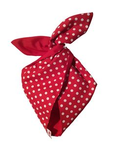 Be Bop a Hairbands Red polka Hairband