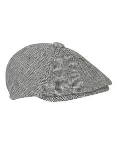 Collectif Tomas Baker Boy Black and White Cap