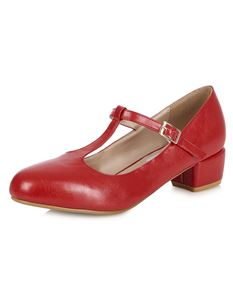 a16d19acc54 Collectif Lulu Hun 40s 50s Chrissie Red Heel Shoes