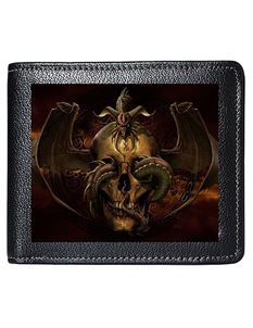Tom Wood Fantasy Art 3D Lenticular Dissent Mens Wallet