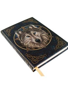 Lisa Parker Wild One Wolf Embossed Journal Notebook