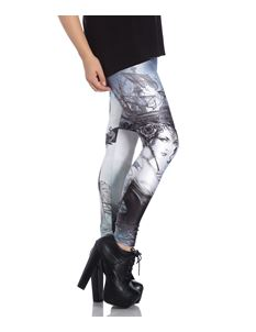 Hell Bunny Raventide Ship Alternative Leggings