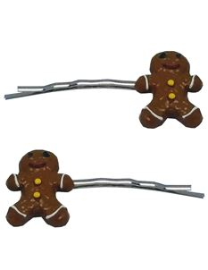 Said Lucy Gingerbread Men Hair clips