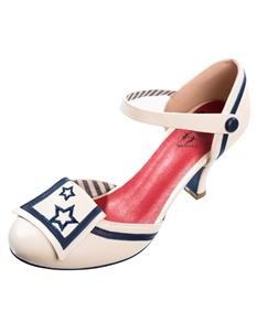 Dancing Days Beaufort Spice Nautical 40s 50s Shoes