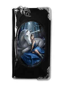 Anne Stokes 3D Lenticular Blue Moon Unicorn Purse
