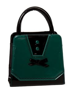 Dancing Days - Banned Rosemary Handbag In Black & Green