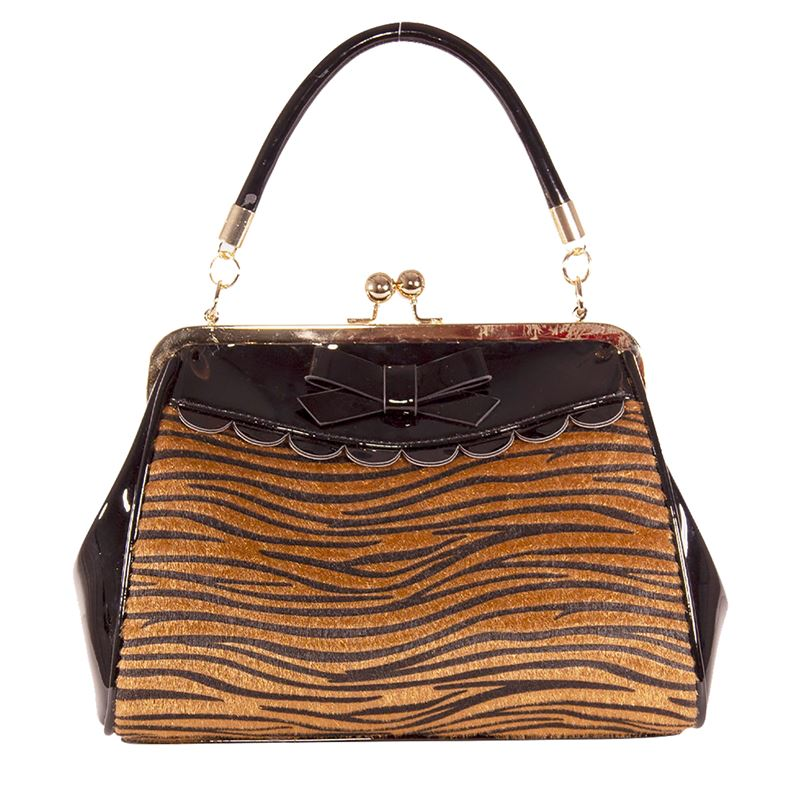 Banned Crazy Little Tiger 50s Handbag Shoulder Bag