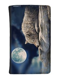 Nemesis Now Quiet Reflection Wolf Purse By Lisa Parker