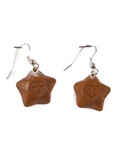 Delphi's Delights Chocolate Magic Star Earrings