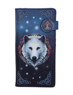 Lisa Parker Guardian Of The Fall Wolf Embossed Purse