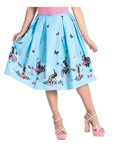 Hell Bunny Cotton Tail Rabbit Butterfly 50s Style Skirt