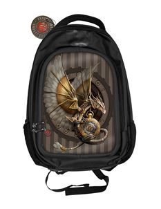 Anne Stokes 3D Clockwork Dragon Alternative Back Pack