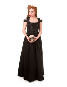 Banned Day Sleeper Gothic Long Maxi Dress