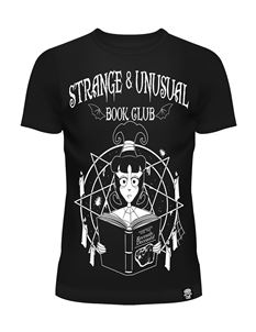 Cupcake Cult Strange & Unusual Book Club Tee T-Shirt