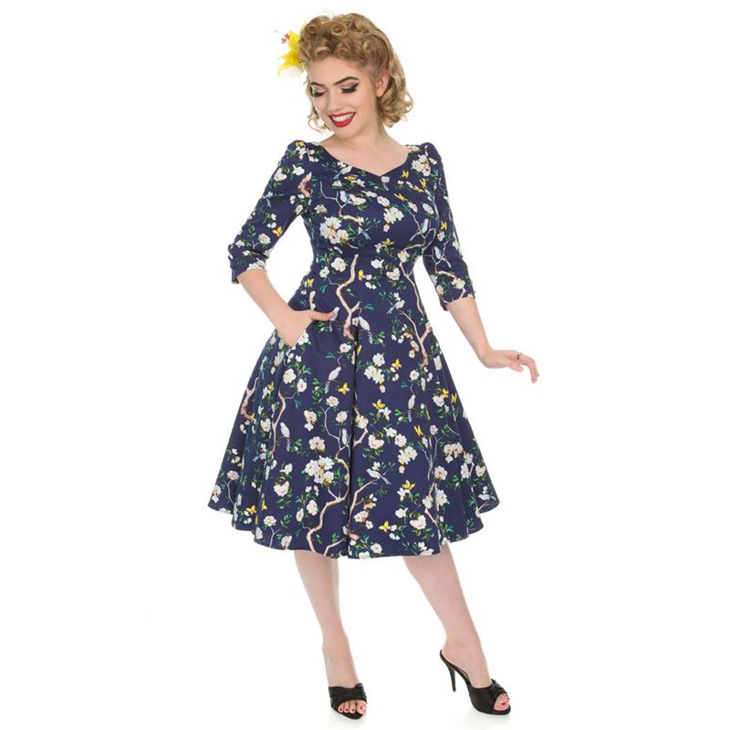 H&R London Enchanted 50s Style Dress