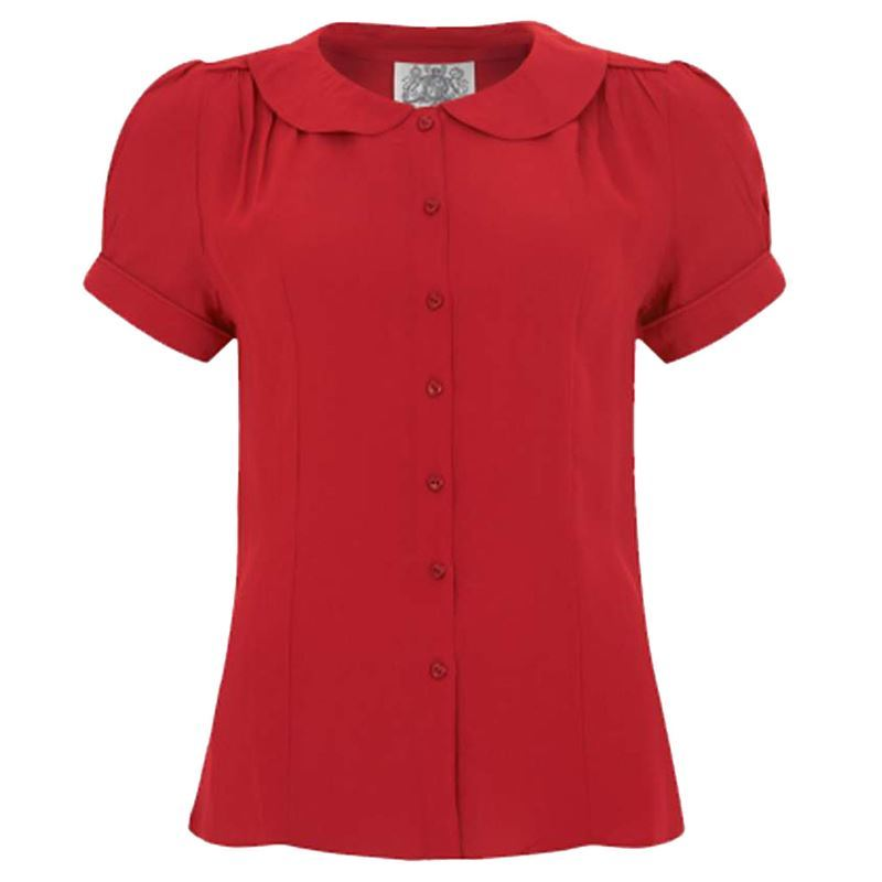 The Seamstress of Bloomsbury Jive Blouse - 3 colours