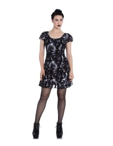 Spin Doctor Ash Crow Alternative Chiffon Mini Dress