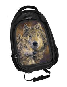 The Bond Wolf 3D Lenticular Backpack Rucksack