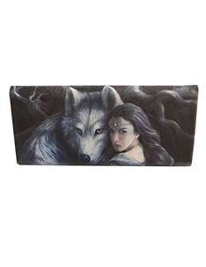 Anne Stokes Soul Bond Wolf Glasses Case