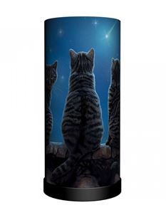 Nemesis Now Wish Upon A Star Cat Bedside Table Lamp