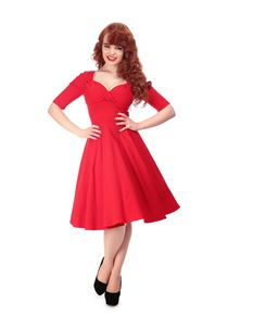 Collectif Trixie Doll Vintage Style 50s Dress