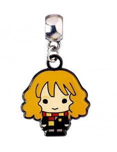 Harry Potter Hermione Granger Chibi Silver Plated Charm