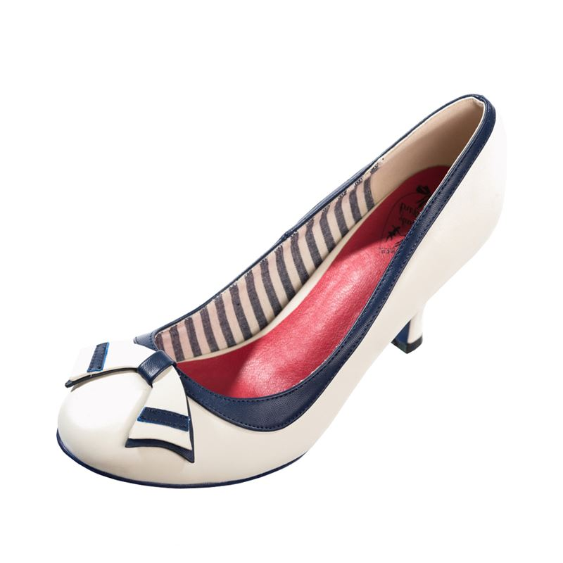 Dancing Days Sparkle Falls Nautical 40s 50s Shoes