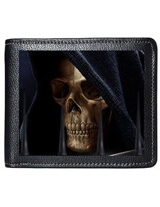Tom Wood Fantasy Art 3D Lenticular Reaper Mens Wallet