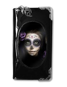 Anne Stokes Day Of Dead 3D Lenticular Purse