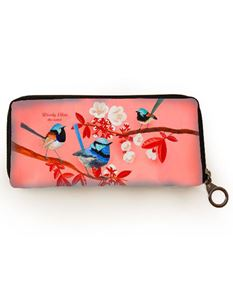 Woody Ellen Miss Fairy Bird Card Wallet Purse