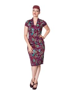 Dancing Days Frankie Peacock Wiggle Dress
