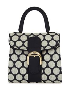 Ruby Shoo Riva Black Spot Polka Dot Shoulder Carry Bag