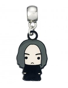 Professor Snape Chibi Silver Plated Charm