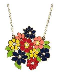 Acorn & Will Jean Flowers Necklace