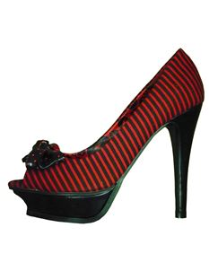 Iron Fist Break In Platform Shoes Red