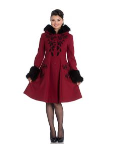 Hell Bunny Red Sherwood Coat