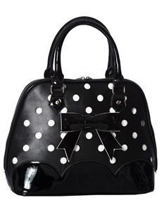 Banned Shirley Polka Dot 50s Handbag Spot Tote Bag