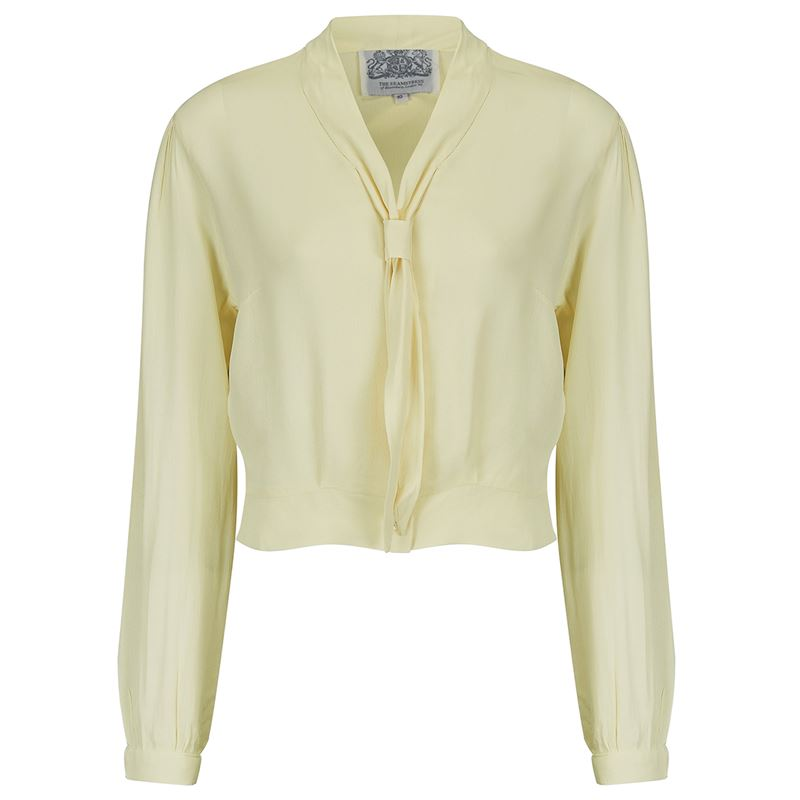 Bonnie Blouse L/sleeve - The Seamstress of Bloomsbury