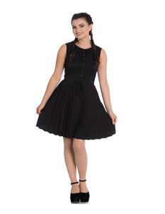 Hell Bunny Josephine Pleated Mini Dress