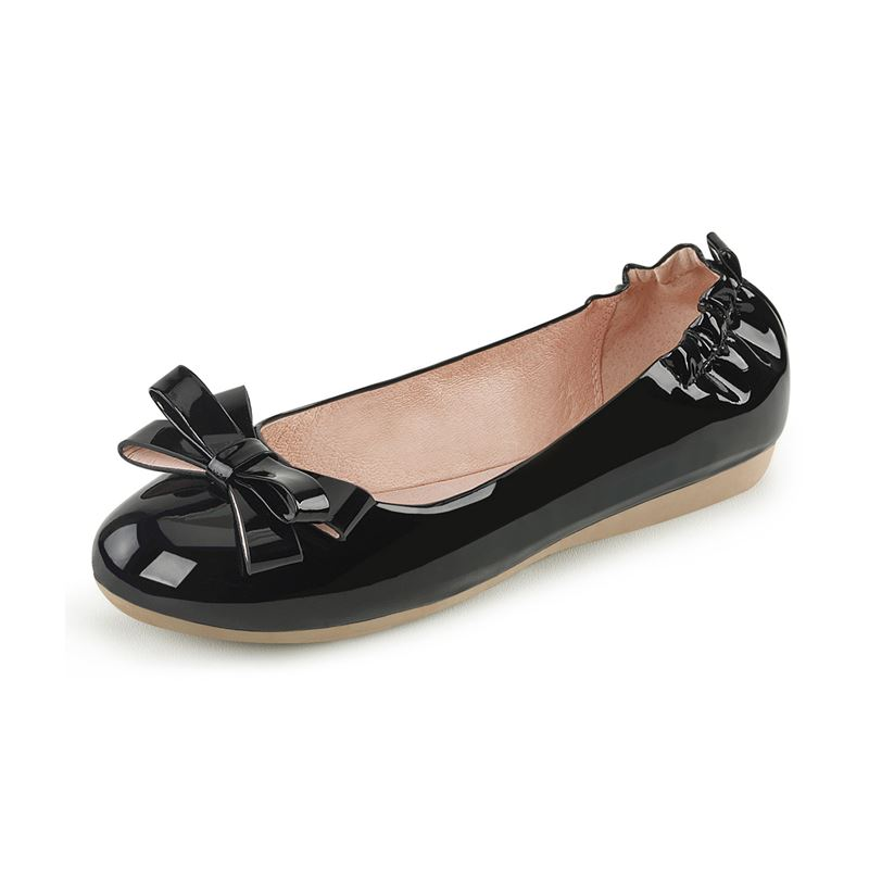 Pleaser Olive 03 Round Toe Foldable Ballet Flats