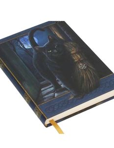Lisa Parker A Brush With Magick Embossed Cat Journal