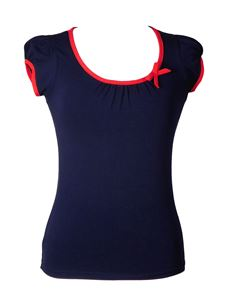 Friday On My Mind Sailor Plain Jersey Top